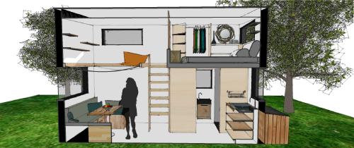 Construire une tiny house, c'est construire sur mesure