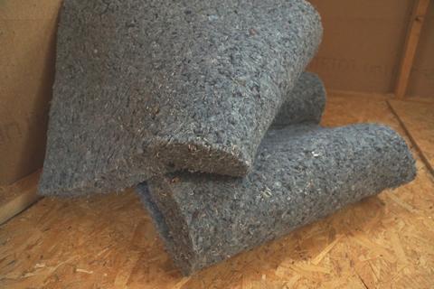 Tiny house : isolation de nos tiny houses est en métisse de coton