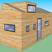Fabriquant de tinyhouses dans les Côtes d Armor, acheter une mini maison en bois sur roues