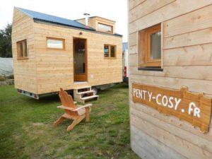 Des tinyhouses faciles à transporter et à poser, un encombrement minimum pour une qualité de vie optimum.