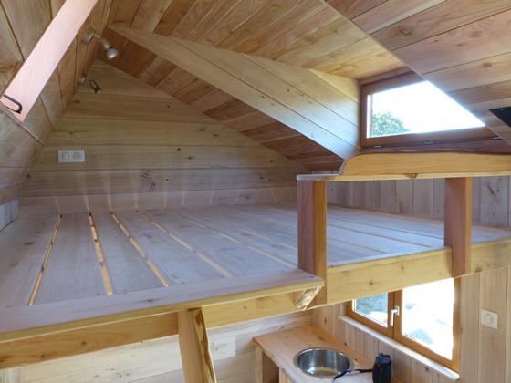 Espace, volume et lumière dans nos Tiny Houses écologiques