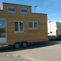autoconstruction de votre mini maison en bois sur roues