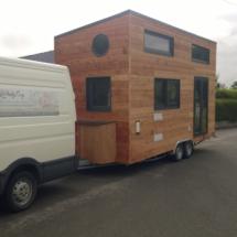 tiny-house-france, mini maison en bois sur roues