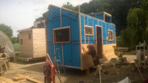 Aides à l'auto construction d'un habitat nomade