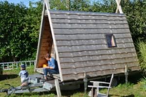 Petite Tiny house avec chambre unique
