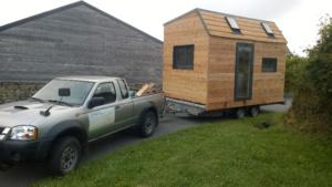 Transporter sa Tiny house facilement avec une remorque