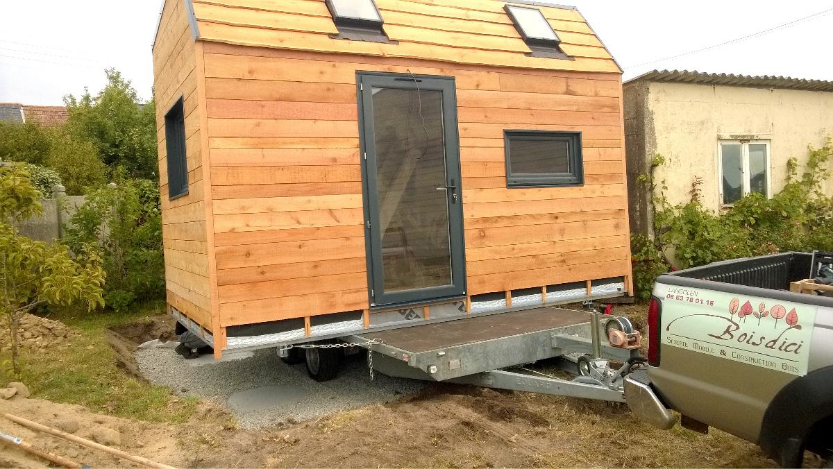 Une tiny house extension pour agrandir la maison