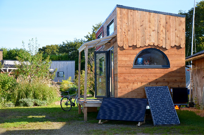 Tiny house autonome en France