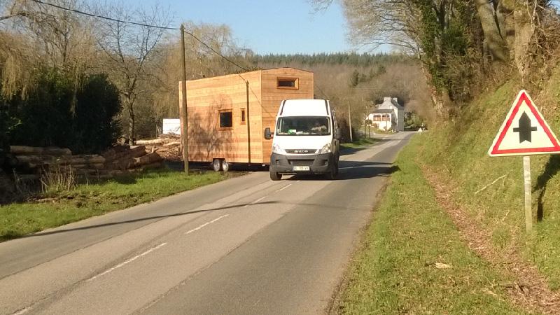 Transport de votre tiny house et permis BE