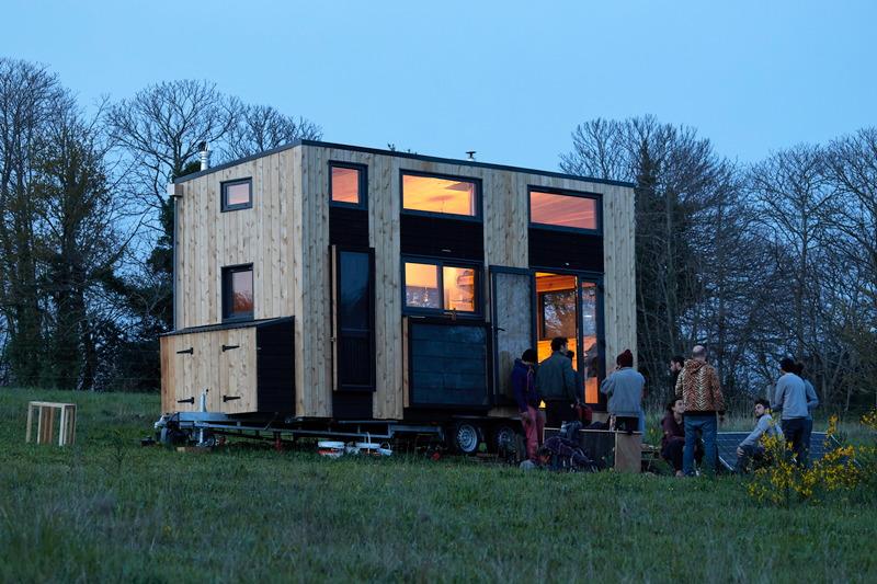 tiny house autonome lowtech france