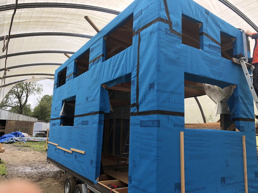 accompagnement à l'auto-construction de ma tiny house en France