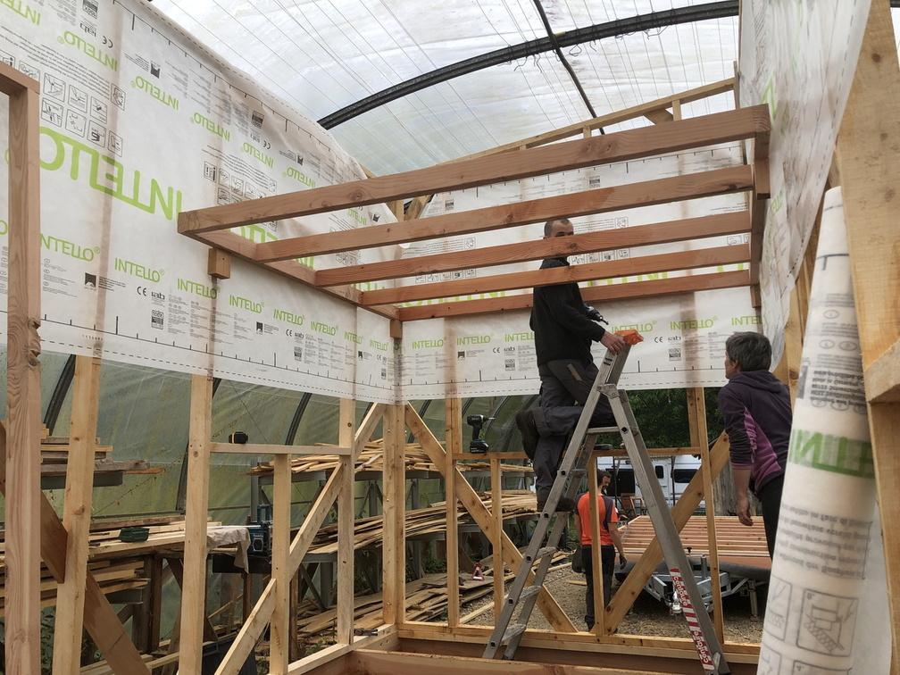 accompagnement à l'auto-construction micro habitat