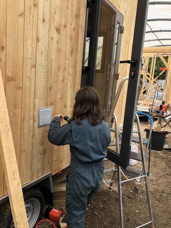 Micro habitat sur roues : accompagnement à l'auto-construction